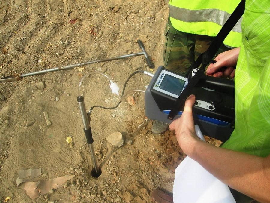 Газогеохимические исследования грунтов