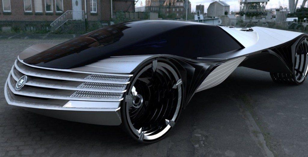 Концепт автомобиля Thorium