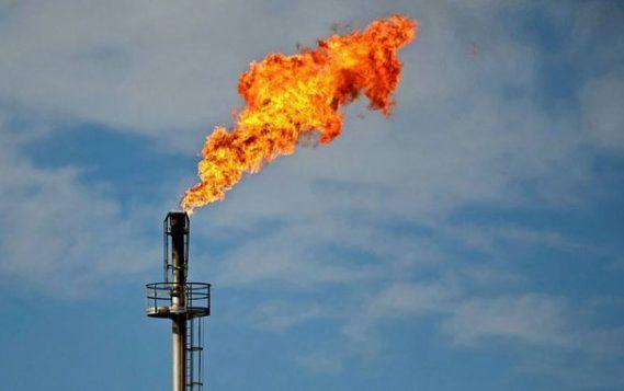 Горение попутного газа